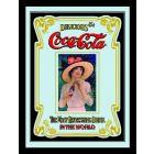 Coke Small Mirror - Nostalgic Advert with Girl