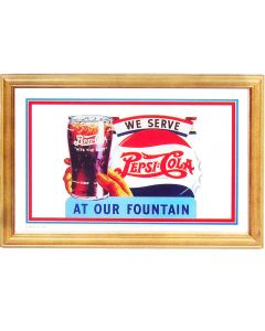 Pepsi Cola Fountain Small Mirror