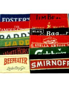 Set of 12 Assorted Bar Towels