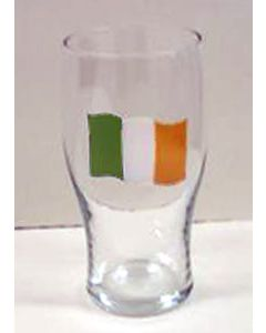 Irish Flag Pint Glass