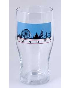 London Skyline Pint Glass