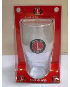 Charlton Pint Glass in Blister Pack