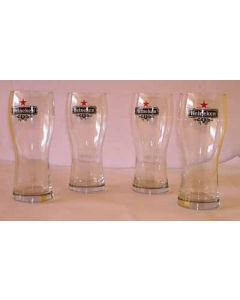Set of 4 Heineken Pint Glasses