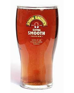 John Smiths Pint Glass
