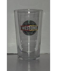 Westons Cider Pint Glass - CE Market - New