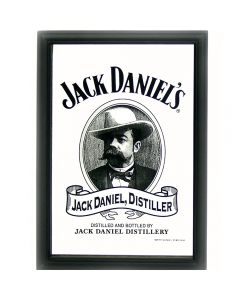 Jack Daniels Head Small Mirror