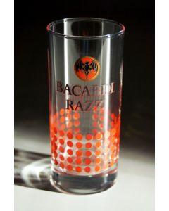 Bacardi Razz Rum Glass