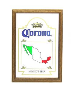Corona Beer Mexico Map Small Mirror