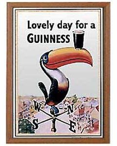 Guinness Small Mirror - Toucan