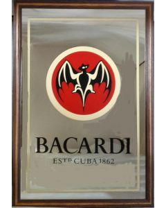 Bacardi  Large Mirror