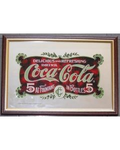 Coca Cola Small Mirror - 5 Cents