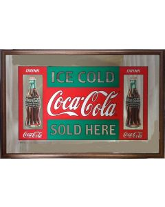 Coke a Cola Large Mirror - Ice Cold
