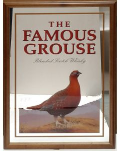 Famous Grouse Large Mirror