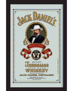 Jack Daniels Small Mirror - Cartouche