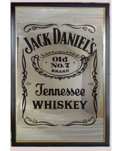 Jack Daniels  Large Mirror - Label