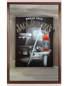 Jack Daniels  Large Mirror - Pool