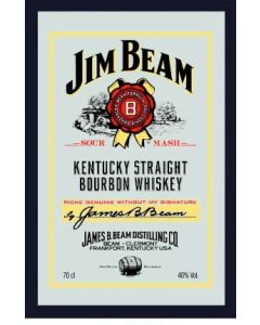 Jim Beam Large Mirror