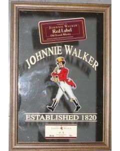 Johnnie Walker Red Label Large Mirror