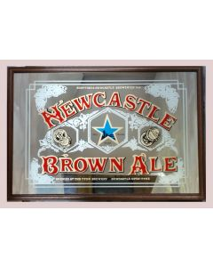 Newcastle Brown Large Mirror