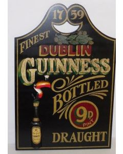 Guinness. Bottled Draught Sign