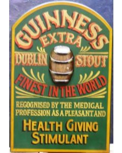 Guinness Health Giving Stimulant Pub Sign