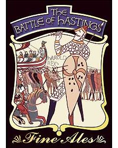 Battle of Hastings Metal Postcard