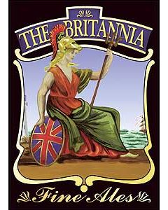 Britannia Metal Post Card