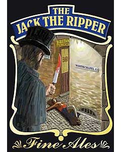 Jack the Ripper Metal Postcard