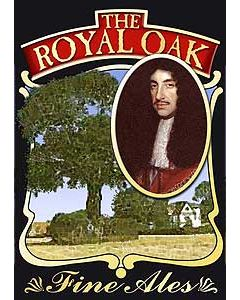Royal Oak Metal Postcard