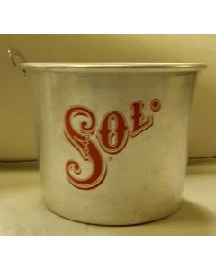 Sol Metal Ice Bucket