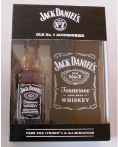 Jack Daniels Iphone 4 Case & Miniature