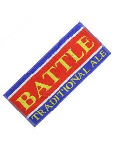 Battle Beer Ale 100% Cotton Bar Towel. 52x22cm. New