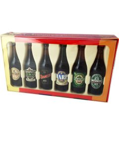 World Beers Miniature Bottles Boxed Set - NEW