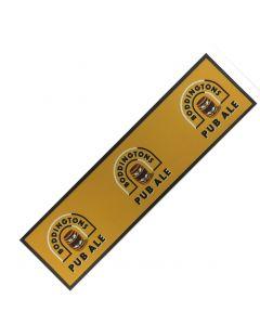 Boddingtons Cask Ale Wetstop Bar Runner. 89x24cm - New