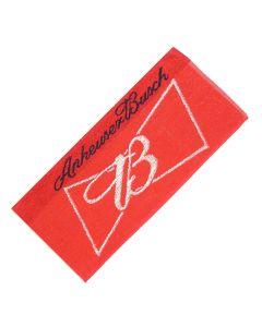 Anheuser Busch Bud Beer 100% Cotton Bar Towel - 52x22cm - New
