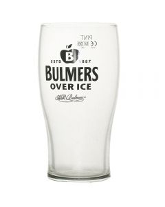 Bulmers Cider Over Ice Pint Glass - CE Marked - New