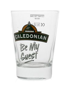 Caledonian Ale 1/3 (third) Pint Sampler Glass - CE Marked - New