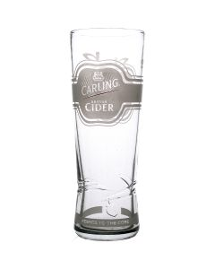 Carling Cider Pint Glass. Government Stamped. CE Mark - New