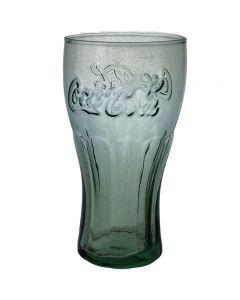 Coca Cola Coke Georgia Green Tinted Glass - New