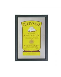 Cutty Sark Small Mirror - Label Design