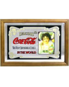 Coca Cola Small Mirror - Traditional