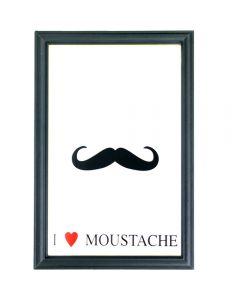 Moustache Small Mirror