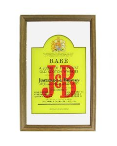J & B Small Mirror - Label Design