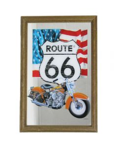 Route 66 Small Mirror