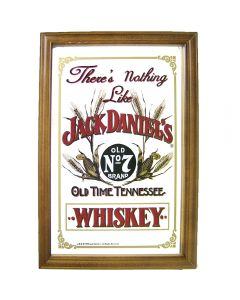 Whisky Jack Daniels Small Mirror Nothing Like - 32.3x22cm.New