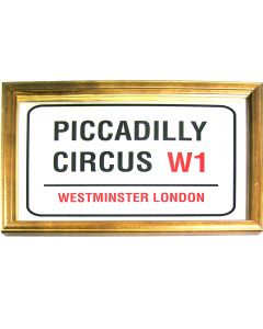Piccadilly Circus - Small Mirror. 32.3x22cm. New