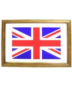 Union Jack Flag Small Mirror. 32.3x22cm. Pub  New