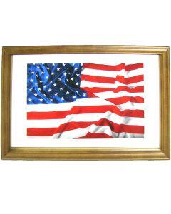 United States Flag Small Mirror. 32.3x22cm. Pub  New