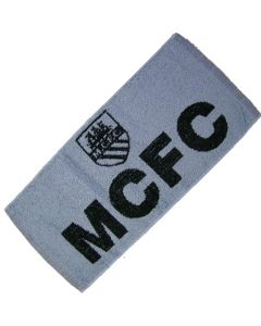 Manchester City FC 100% Cotton Bar Towel. 52x22cm - New