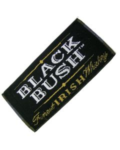 Black Bush 100% Cotton Beach Towel. Size 90x174cm - New